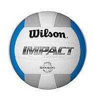 Wilson Impact Volleyball, White/Blue