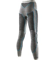 X-Bionic Apani Merino Lady UW - lange Unterhose Damen, Black/Turquoise