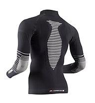 X-Bionic Energizer MK2 Shirt Long Sleeves Turtle Neck, Black/White