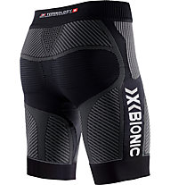 X-Bionic Evo Pants Short pantaloncini running, Black/Grey