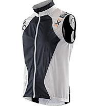X-Bionic Running Spherewind Weste, White/Black