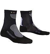 X-Socks Calze bici MTB Mountain Biking Discovery, Black