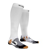 X-Socks Run Energizer Calzini Lunghi running, White