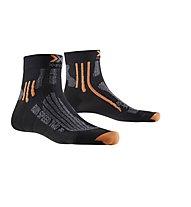 X-Socks Run Speed Two - Laufsocken, Black/Grey Melan
