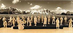 Das SPORTLER Holzfigurenkabinett