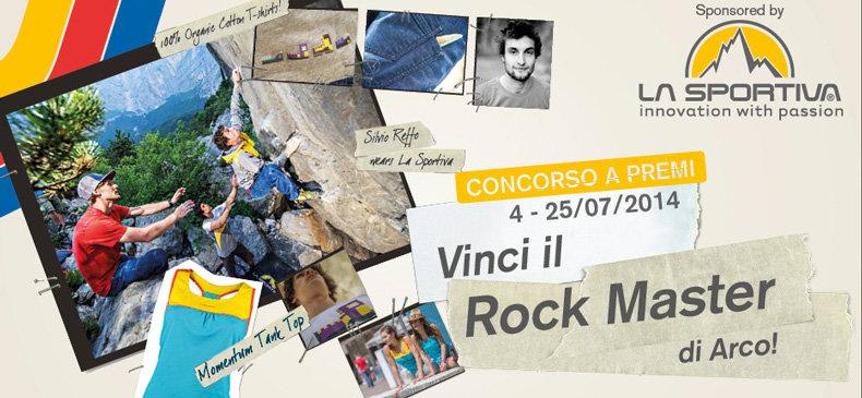 Vinci il Rock Master di Arco!